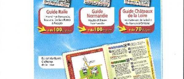 Nouveautés Guides Aires Services